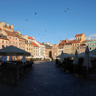 Old Town Market Square in Warsaw photo (1)