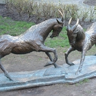 Monument to the goats in Poznan photo (0)
