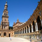 Plaza de España in Seville photo (2)
