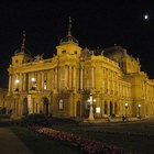 Croatian National Theatre in Zagreb photo (2)